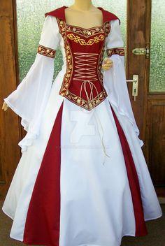 Medieval dress Lorena by Azinovic on DeviantArt