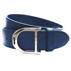 56a6cea823e Equetech Stirrup Leather Belt Blue Equestrian Outfits