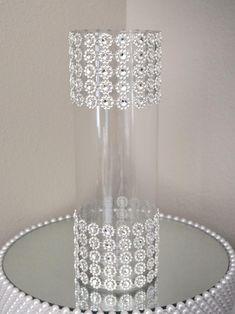 RHINESTONE VASE. Wedding Centerpiece Vase. Bling Vase. | Etsy