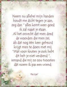 Gedichten Ria Lips©