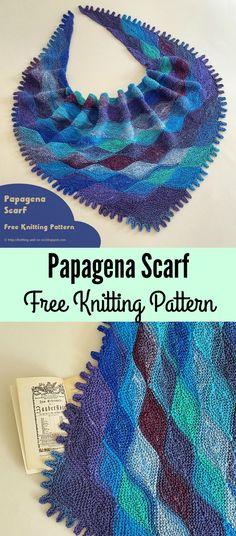 Papagena Scarf Free Knitting Pattern