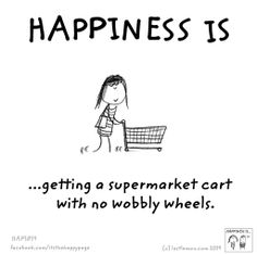 shopping cart Cute Happy Quotes, Silly Quotes, Quirky Quotes, Funny Picture Quotes, True Quotes, Best Quotes, Happiness Challenge, Happiness Project, Live Happy