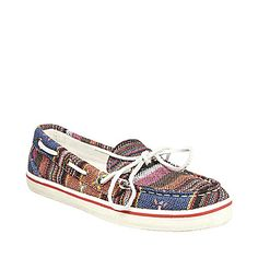 Steve Maddens Multi-colored nautical shoes - kind of on the fence about these