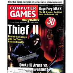 Cover Print of Computer Games Magazine, March 2000 | $6.60