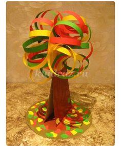 Kağıt işinden ağaç