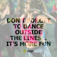 Dance Outside the lines