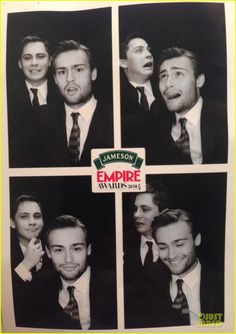 Douglas Booth & Logan Lerman- Jameson Empire Awards 2014!