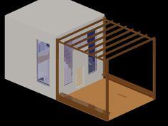 espaço casa com pergola