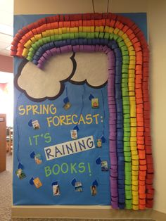 Willing spring to get to Minnesota!!  This is my spring bulletin board for school;)