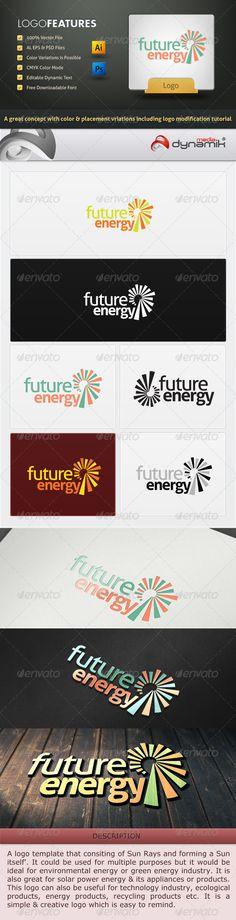 Future Energy - Logo Template $29