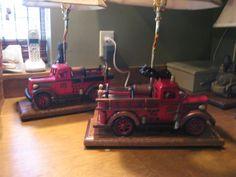 Fire truck lamps