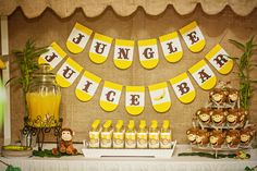 Jungle Party; The Jungle Juice Bar