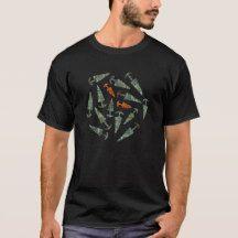 Bronze Age rock art daggers from Valcamonica T-Shirt