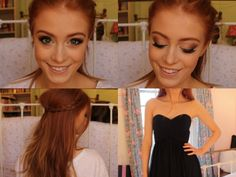 Prom Tutorial | Makeup, Hair and Dress | MsRosieBea