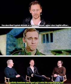 The original draft would have been very right. Complete gif set: http://gofuckyourselftomhiddleston.tumblr.com/post/50606783625