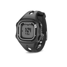 Garmin Forerunner Watch Previously worn but only for a week or two. Perfect condition except there is a very small scratch as pictured above. It's barely noticeable. Adjustable strap. Comes with watch and USB charger! This GPS watch tracks distance, speed, pace, calories, and personal records. Garmin Accessories