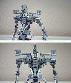Gundam x LEGO: Gundam Barbatos with Inner Frame!     Created by shm03337
