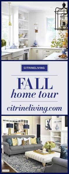 Welcome to my Fall home tour, where instead of using 'go-to' pumpkins + gourds, I've layered rich colors and warm metals for a sophisticated seasonal look.