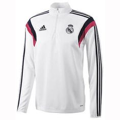 Real Madrid Training Top 2014 - 2015 (White)   Spanish Clubs   Overseas  Clubs d9f8778e01a