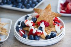 Red, White, and Blue Dessert Nachos | Tasty Kitchen: A Happy Recipe Community!