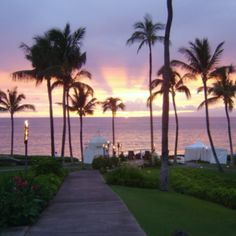 Maui - great sunset, great trip