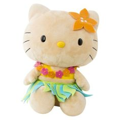 hula hello kitty coloring pages - photo#31