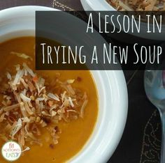 A tale of two soups -- with a pretty surprising outcome!