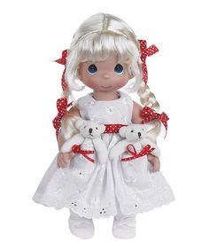 Precious Moments Doll New 12 inch Blonde Pocket Pal Precious Moments Doll #PreciousMoments #Dolls