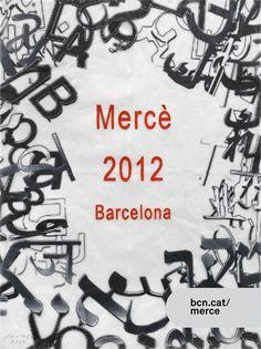 Cartel Fiestas de la Mercé 2012