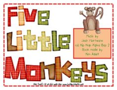 Jack Hartmann Five Little Monkeys Fun Music Book Teaching Music, Teaching Resources, Teaching Ideas, School Songs, School Days, Jack Hartmann, Five Little Monkeys, Music Worksheets, Fun Music