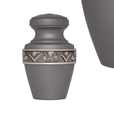 Funeral Urn by Liliane  Small Keepsake Urn Fits a Small Amount of Remains  Cremation Urn to Share a Small Amount of Human Ashes as Well as the ashes of dogs cats or other pets  Display Keepsake Burial Urn at Home or in Niche at Columbarium  DAnvers Model Slate >>> Continue to the product at the image link.