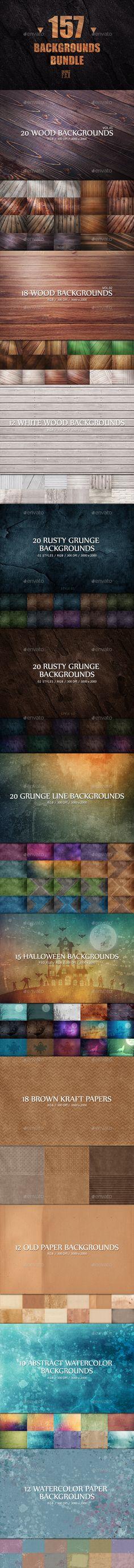157 Backgrounds Bundle 3000×2000 px #design Download: http://graphicriver.net/item/157-backgrounds-bundle/13610947?ref=ksioks