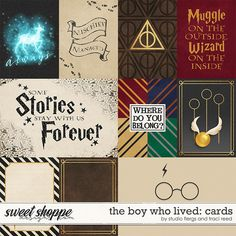 The Boy Who Lived: CARDS by Studio Flergs & Traci Reed