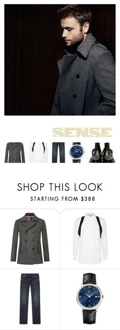 """""""You have something good and beautiful hidden inside of you."""" by sharmarie ❤ liked on Polyvore featuring Ted Baker, Givenchy, Dolce&Gabbana, OMEGA, Balmain, men's fashion and menswear"""