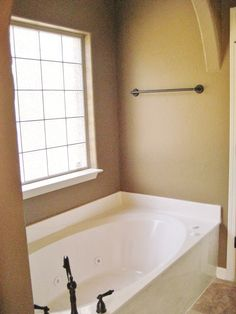 blinds for the window over the garden tub bathrooms pinterest garden tub tubs and window