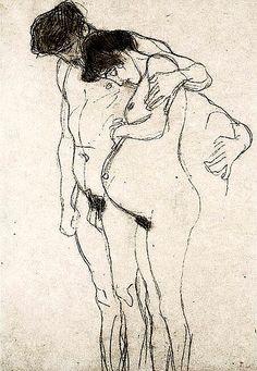 Gustav Klimt, Pregna