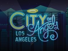 Los Angeles City Of Angles by R A D I O