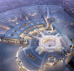 Subhanallah Ya Allah de makkeh dedan may naseeb kray Masjid Haram, Mecca Masjid, Mecca Hajj, Islam Muslim, Allah Islam, Islamic Images, Islamic Pictures, Islamic Quotes, Religion