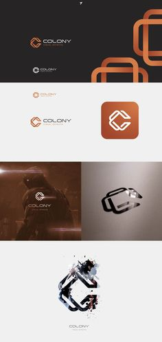 Work with designers like Sheva who designed this impressive logo for visual effects company Colony and get an inspiring logo for your business on money back guarantee. Get started today. Typography Logo, Logo Branding, Custom Logo Design, Custom Logos, Logo Sketch, Logo Monogramme, Inspiration Logo Design, Money Logo, Web Design