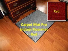Walk Off Entry Floor Mat  Carpet Mat Pro  4 x 13  Red  Non Skid Indoor Runner Matting -- Click image to review more details. This Amazon pins is an affiliate link to Amazon.