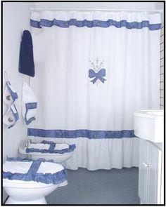 49 mejores imágenes de cortinas de baño en 2019 | Bathroom curtains ...