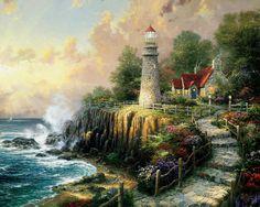Landscape - 529 Пейзаж, картины, сувенир, подарки