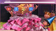Fairy Princess Gru – Despicable Me 2 Chrome Theme