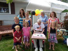 Gilbert Weiss's 90th  Great Grandchildren!