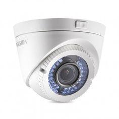 Профессиональная вариофокальная купольная камера для системы видеонаблюдения с возможностью наружной установки. Технологии: HD-TVI. Матрица: CMOS IS. Разрешение: 1920x1080 пикс. (2 Мп/Full HD). Фокусное расстояние: 2,8-12 мм (угол обзора - 114,5°~35,1°). Дальность ИК подсветки: до 40 метров. Управление OSD меню по протоколу HIKVISION-C. Индекс защиты: IP66.