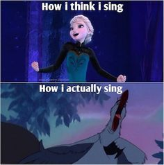 How I think I sing vs how I actually sound.