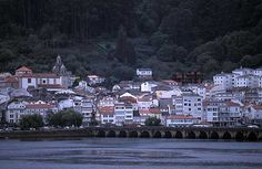 Pontedeume in Galicia, Spain Celtic Nations, Paraiso Natural, Costa, Life Is An Adventure, Places Ive Been, Dolores Park, Beautiful Places, Barcelona, Scenery