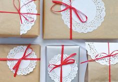 5 идей декора и упаковки подарков с помощью крафт-бумаги