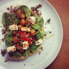 nononsensenutrition (@nononsensenita) on Twitter #tastytuesday #lunchidea #dinner #flatbread #nononsense #nutrition #healthyeating #recipe #ingredients here >>> http://eepurl.com/bvOpUH