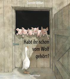 Der große böse Wolf ist in Wahrheit gar nicht so böse – das ist nur ein Gerücht! Bilderbuch Rezension von @juliliest